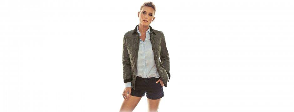 Foto Abbot Derby Quilt Jacket Damen Kopie