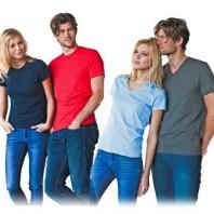 T-Shirt Damen K380 Herren K356  V-Schnitt Damen K381 Herren K357