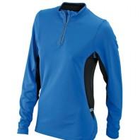 Funktion Langarm-Shirt 1/4 Zipp JN0317 Damen JN0307 Herren