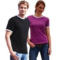 Ringer T-Shirt JN013 Damen JN012 Herren