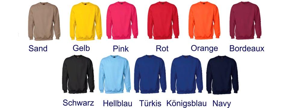 Sweater Farben uni sex ID 0600