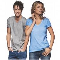 Gipsy T-Shirt V-Neck Damen JN 975 Herren JN 976