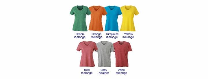 Farben Heather T-Shirt Kopie