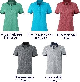 Farben Polo-Shirt Heather JN 705