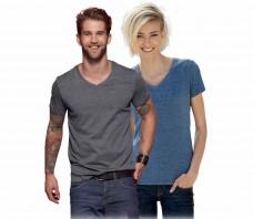 Heather T-Shirt JN 973 Damen JN 974 Herren